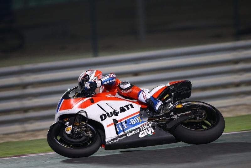 Андреа Довициозо - быстрейший по итогам 1-го дня тестов MotoGP 2017 в Катаре