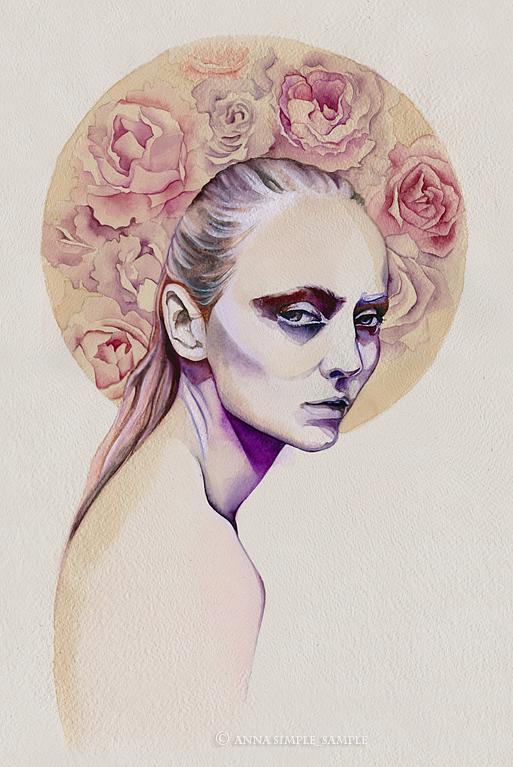 Original Portraits by Anna Danilova