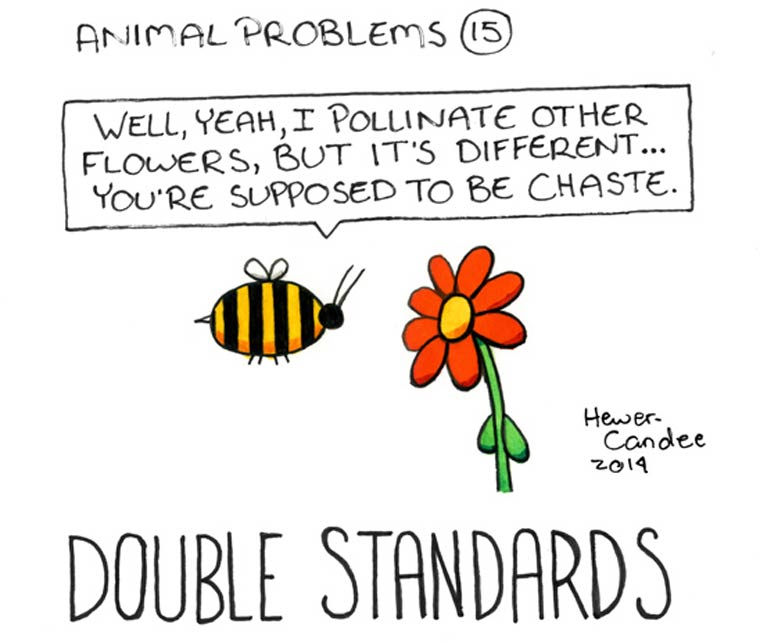 Animal Problems - La dure vie des animaux dans des illustrations adorables