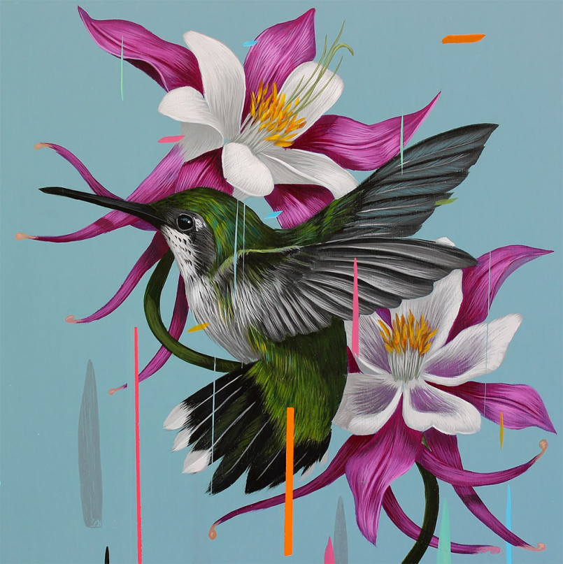 Bird Paintings by Frank Gonzalez