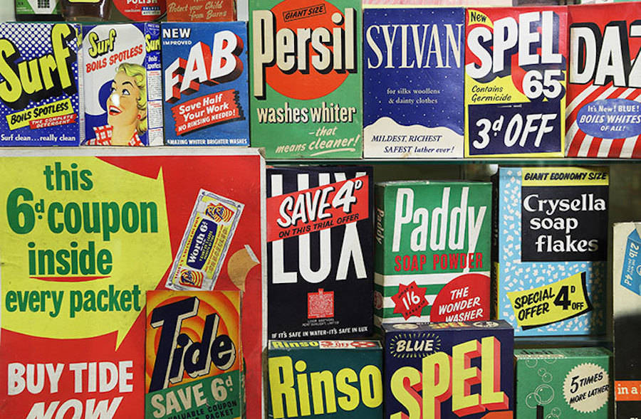 Vintage Packaging Exposed in London's Brands Museum (8 pics)