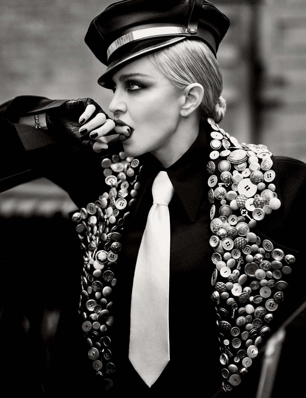 Новая сексуальная революция - Мадонна / Madonna  by Luigi + Iango - Vogue Germany april 2017