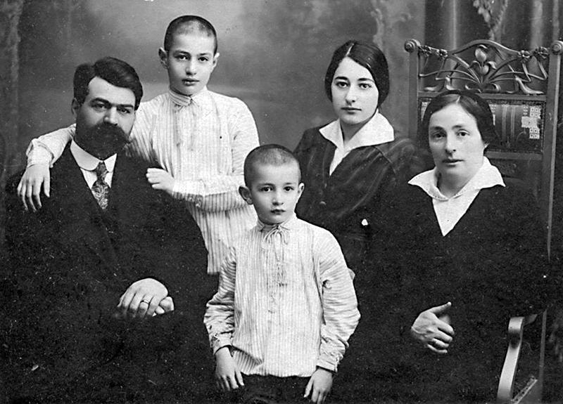 Семейство Юровских, 1920 г.
