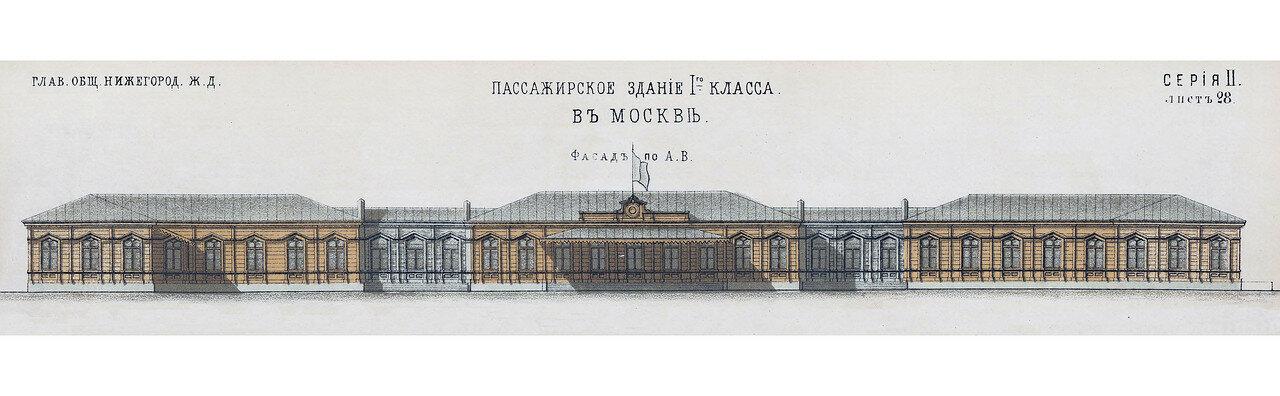 630515 Пассажирское здание I-го класса. Нижегородский вокзал. Фасад по A.B.jpg
