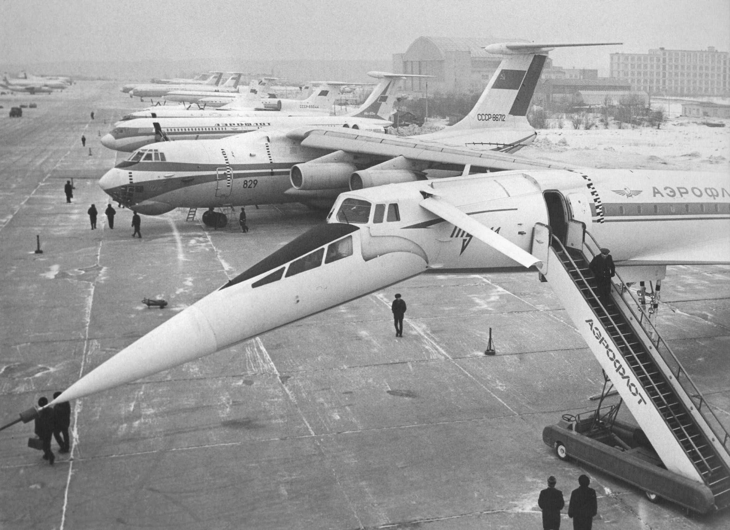 1974. Выставка авиатехники
