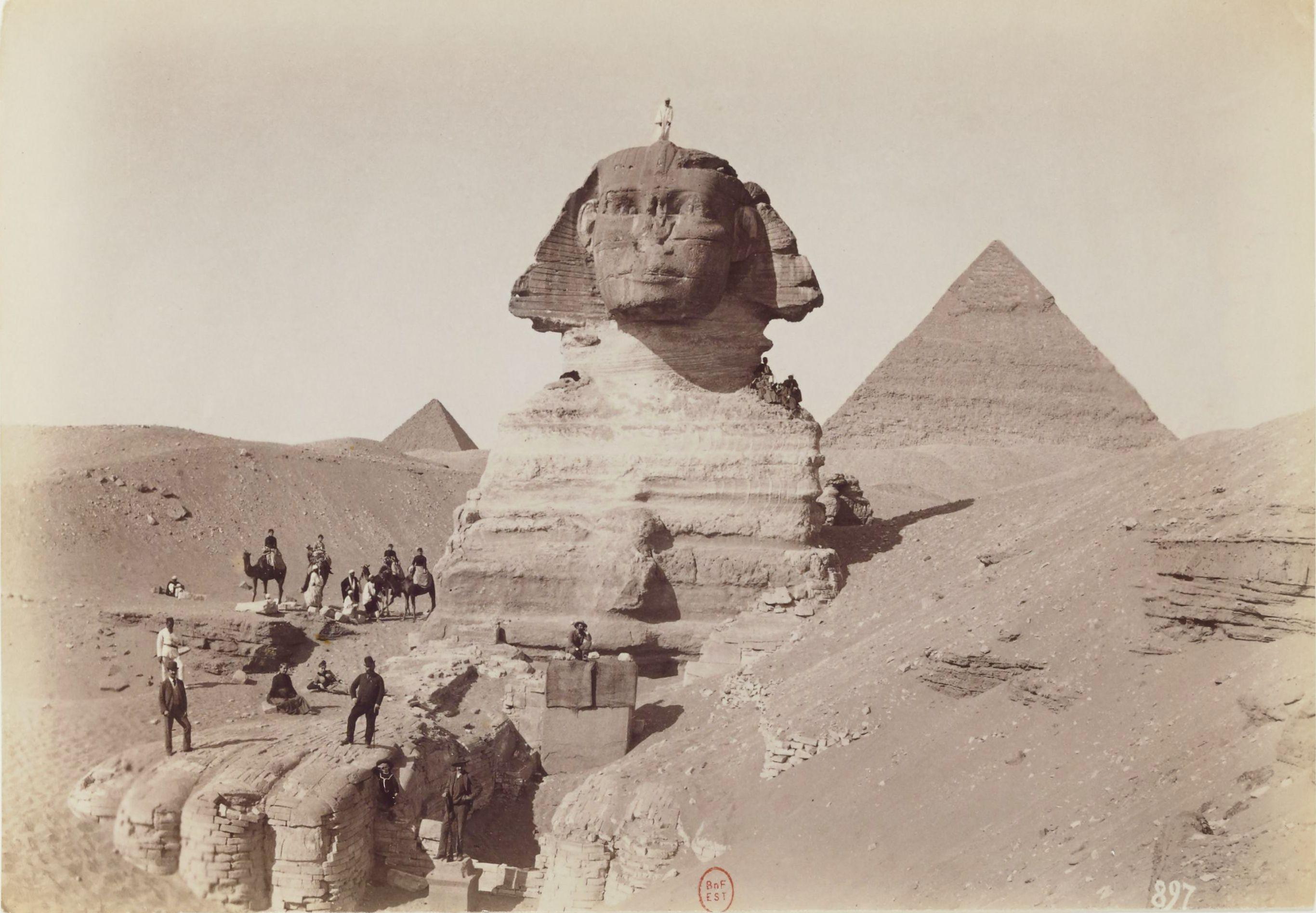 Гиза. Пирамиды и Сфинкс