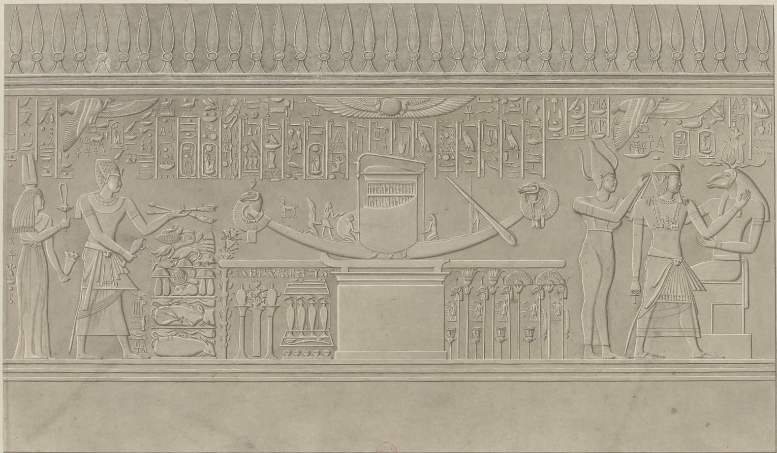 Барельеф храма острова Элефантин