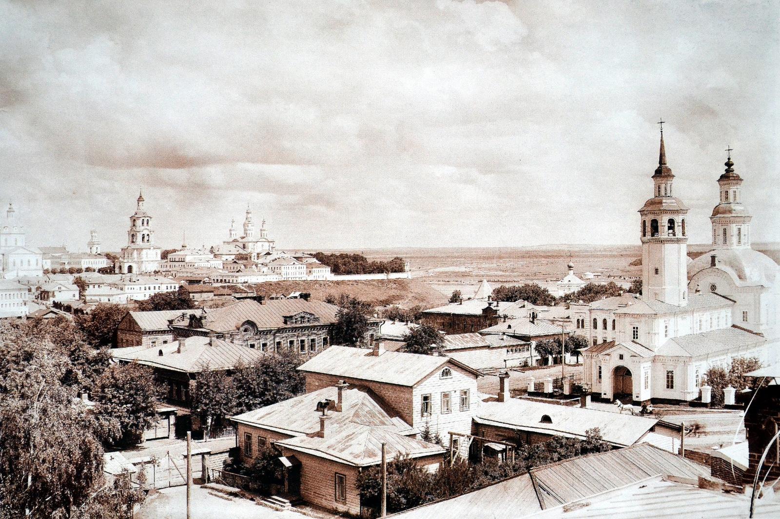 Вид города с юго-западной стороны