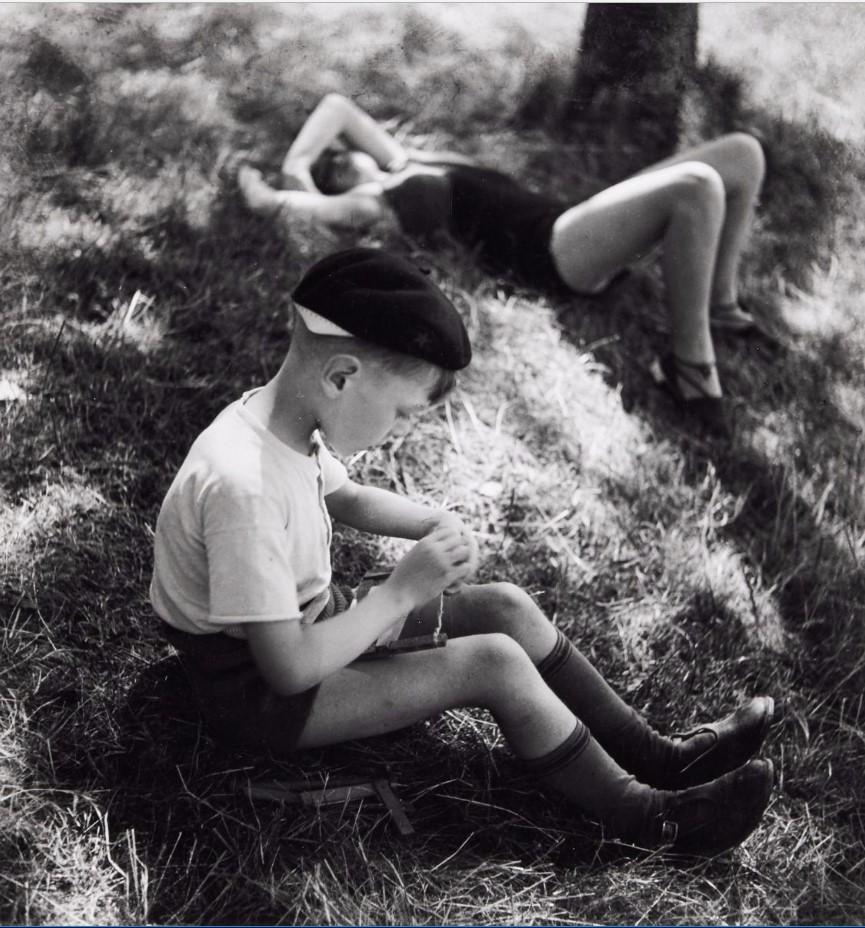 1937. Летний лагерь в Вильжюифе, Марсак