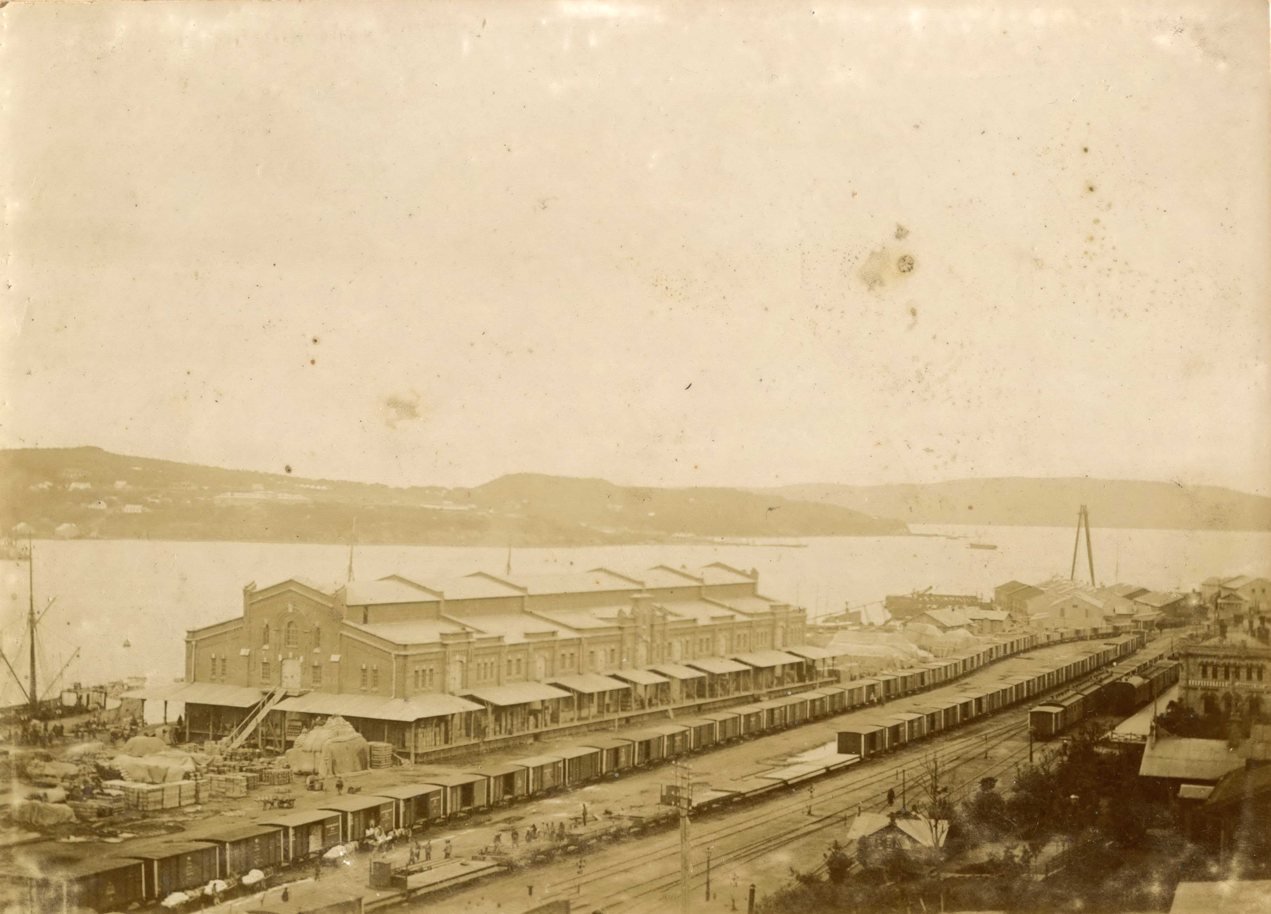 02. Владивостокский порт