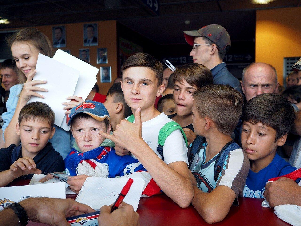 49 Встреча с болельщиками 20.08.2017