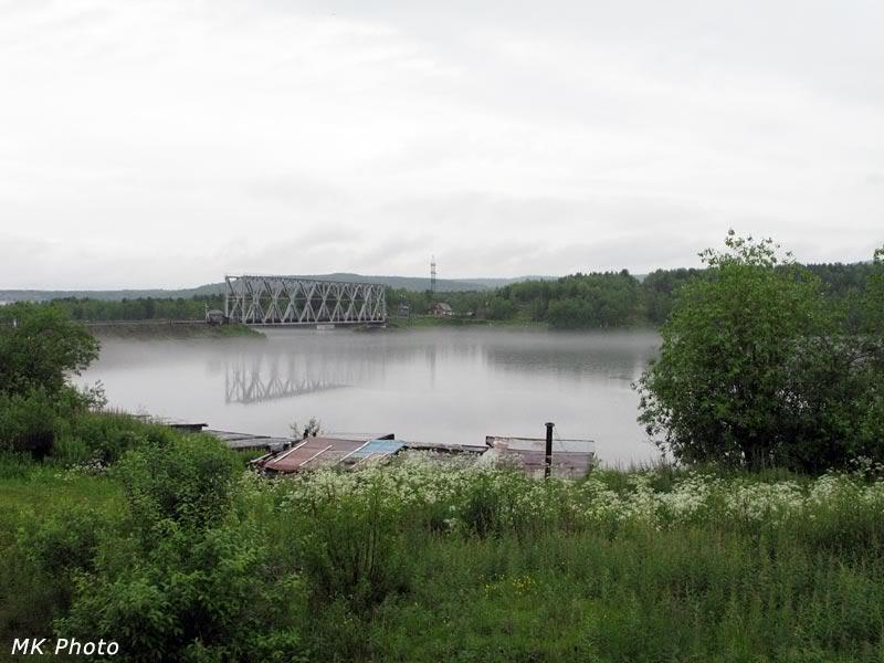 Мост через Нижнетуломское водохранилище