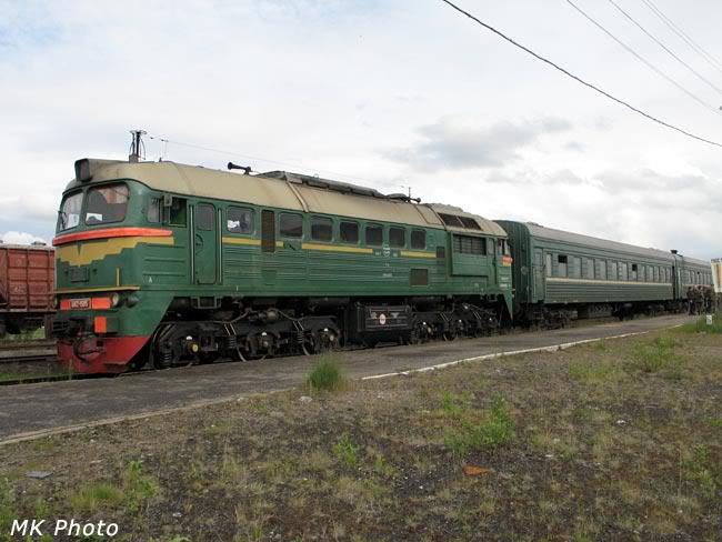 Пригородный Мурманск - Никель на ст. Нял