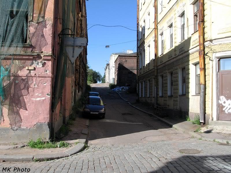 Выборгская улочка