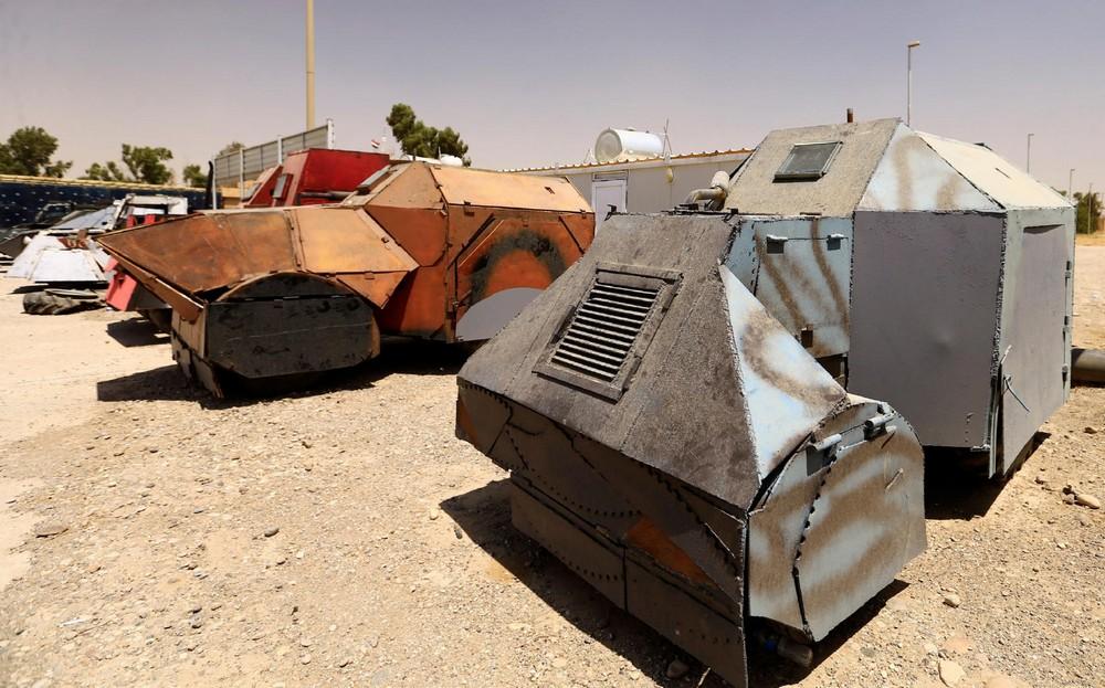 Автомобили террористов «Исламского государства»