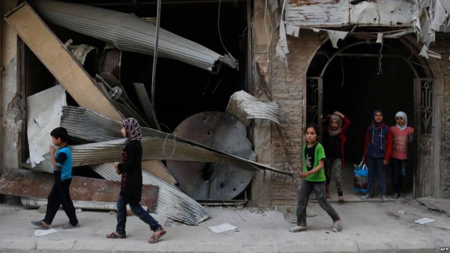 Россия заявила, что договорилась с оппозицией в Сирии «зоны деэскалации» вблизи Дамаска