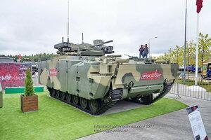 БМП Курганец-25 на форуме Армия-2017 в парке Патриот