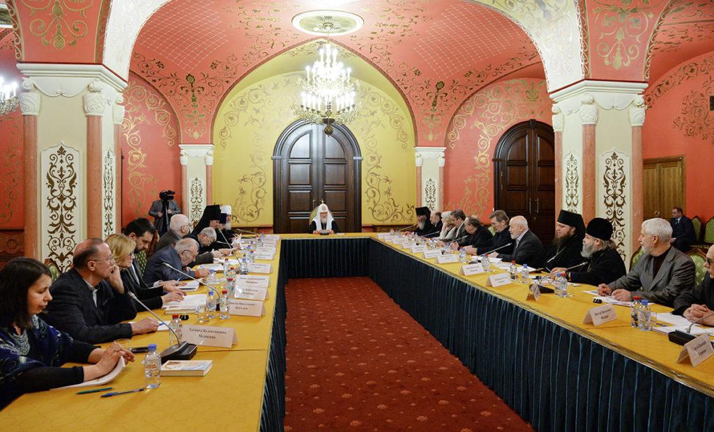Предстоятель Русской Церкви возглавил заседание Палаты попечителей Патриаршей литературной премии