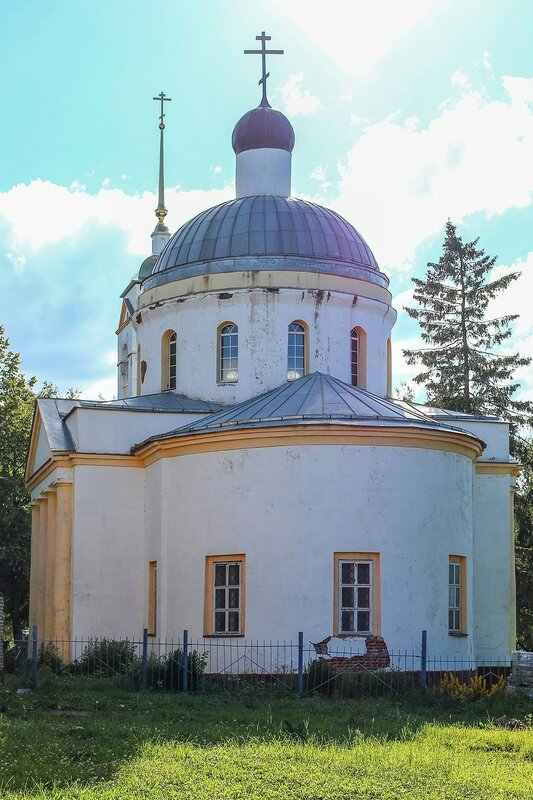 Cело Васильевское. Храм святителя Василия Великого
