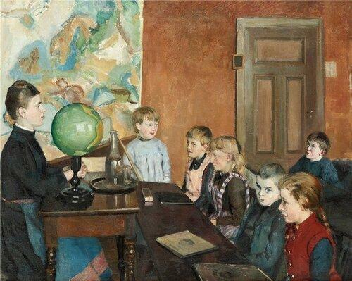 Endis Bergstrom Classroom Interior