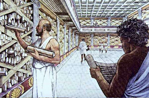 Александрийская библиотека открытки фото рисунки картинки поздравления