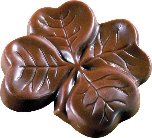Всемирный день шоколада 11 июля. Четырехлистник из шоколада
