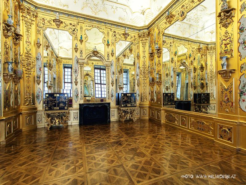 Золотой кабинет в Бельведере