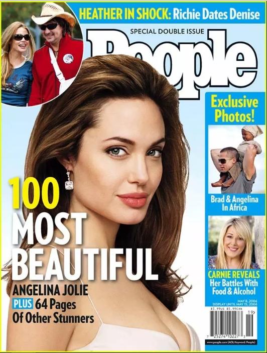 Анджелина Джоли , 2006 год. 3. Будьте белой женщиной.