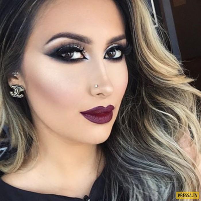 Таманна живет в Лос-Анджелесе и не носит хиджаб, но свой опыт о макияже в восточном стиле старательн