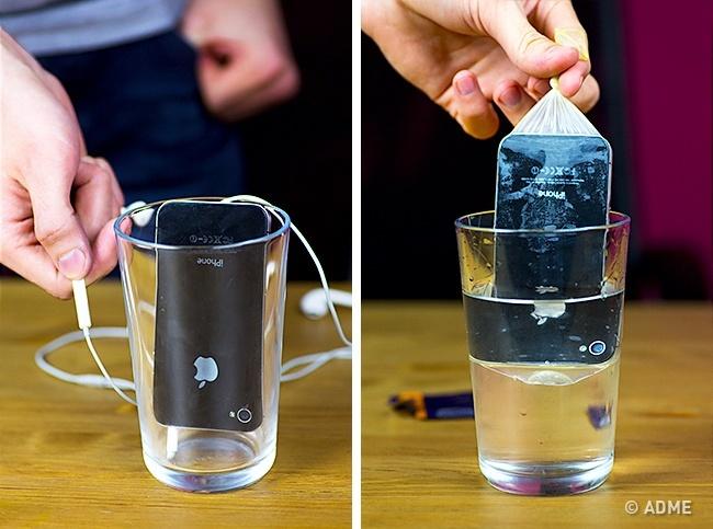 Вести съемку вводе или под водой насмартфон гораздо удобнее, чем наобычный фотоаппарат. При этом