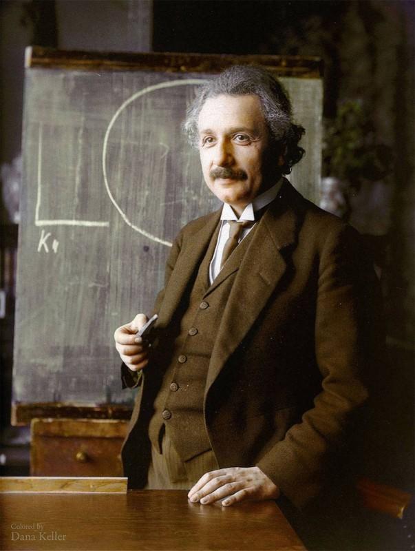 Альберт Эйнштейн, 1921 год.