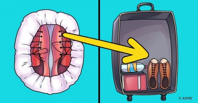 23трюка, скоторыми высможете упаковать вчемодан всю квартиру (7 фото)