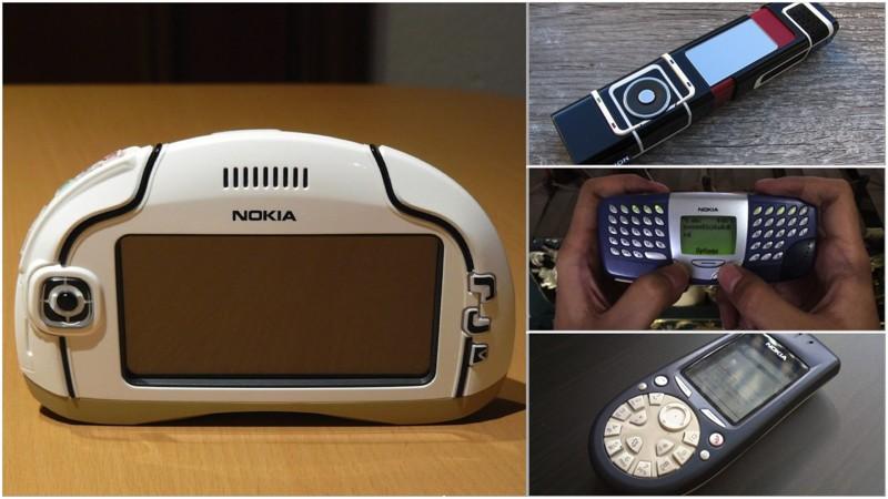 Ох, уж эти финны: 12 самых странных телефонов Nokia (13 фото)