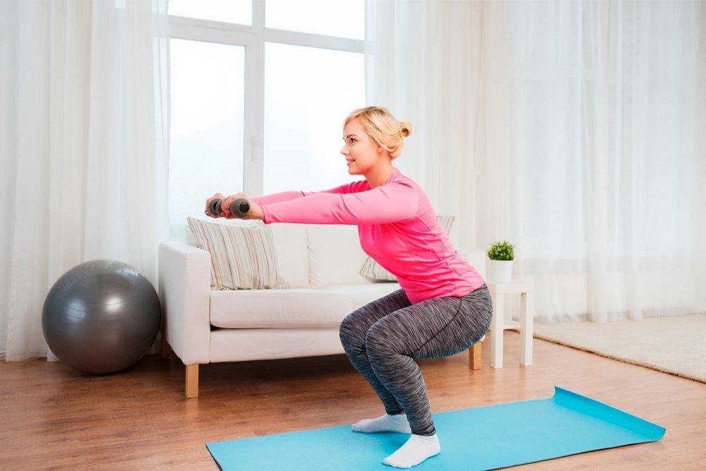 Главные принципы занятий спортом в домашних условиях (1 фото)