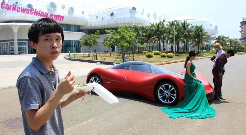 Мечта своими руками: китаец самостоятельно создал суперкар