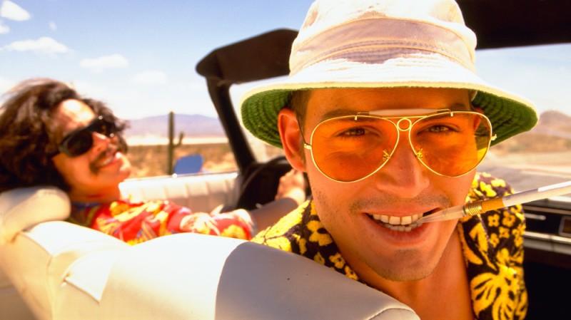 Джонни Депп , «Страх и ненависть в Лас-Вегасе» Опыт Джонни Деппа в употреблении запрещенных веществ