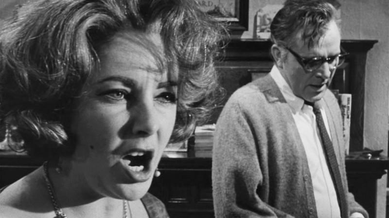 Элизабет Тейлор и Ричард Бёртон , «Кто боится Вирджинии Вулф?» Пристрастие Тейлор и Бёртона к алкого