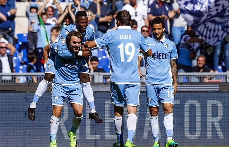 «Лацио» разгромил «Сампдорию» вматче чемпионата Италии
