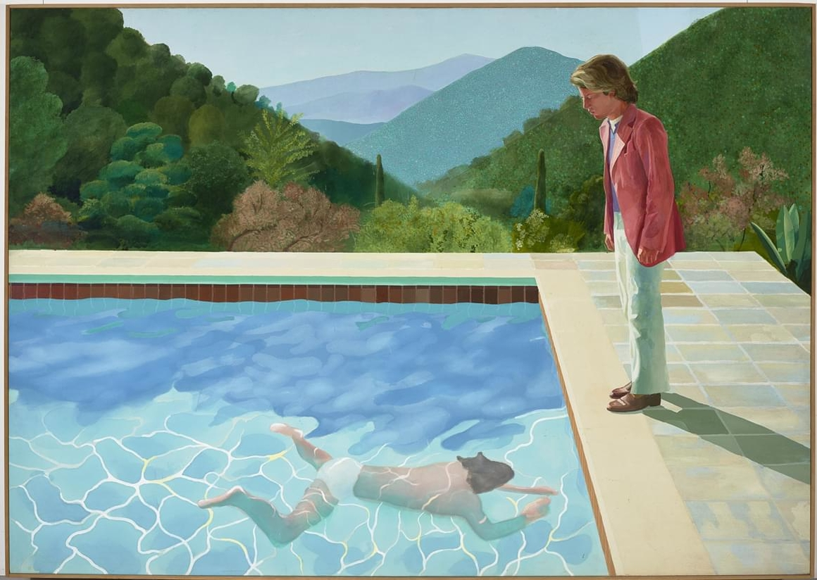 David Hockney Exhibition at Centre Pompidou Paris (10 pics)