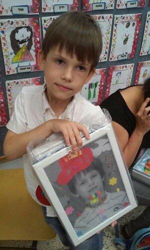 Памятный портрет в подарок на выпускной в детском саду, 25.06.17