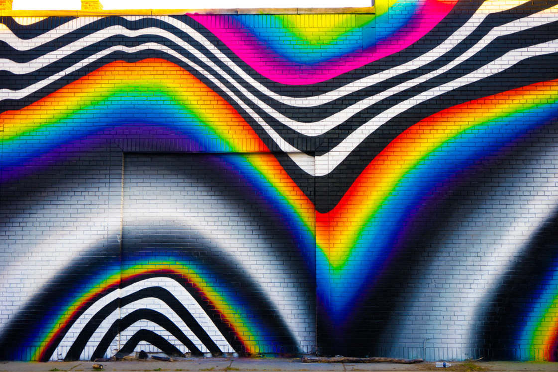 Glitch Art – The latest street art creations by Felipe Pantone (19 pics)