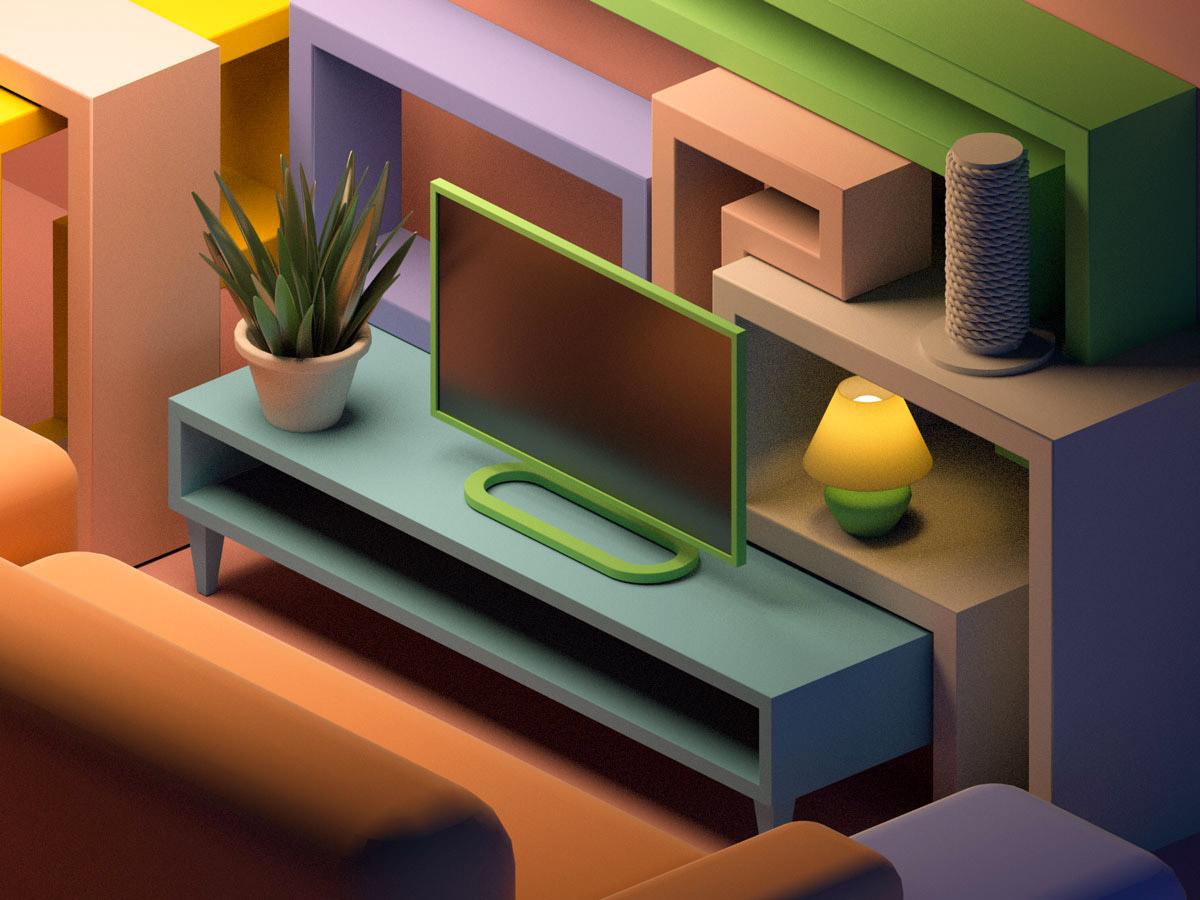 More 3D Illustrations by Zhivko Terziivanov
