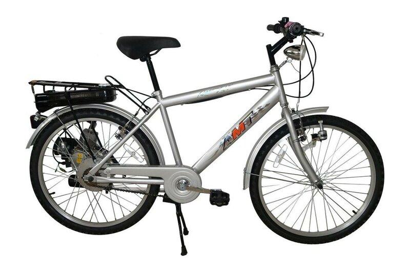 Велосипед с мотором – AMT F-60