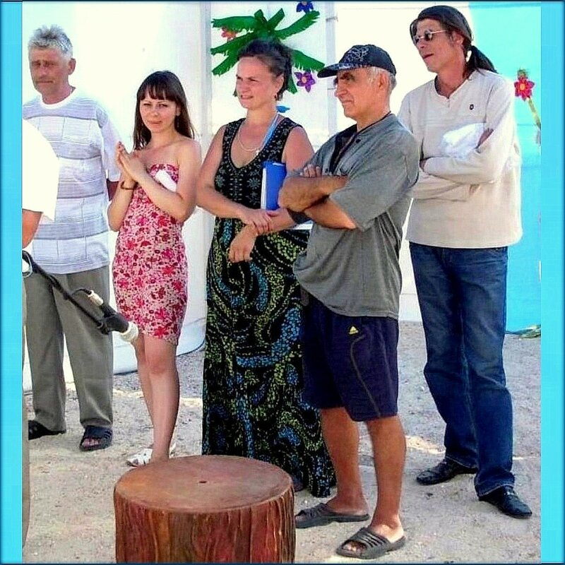 На сцене Ясенской косы. Август 2011. .jpg