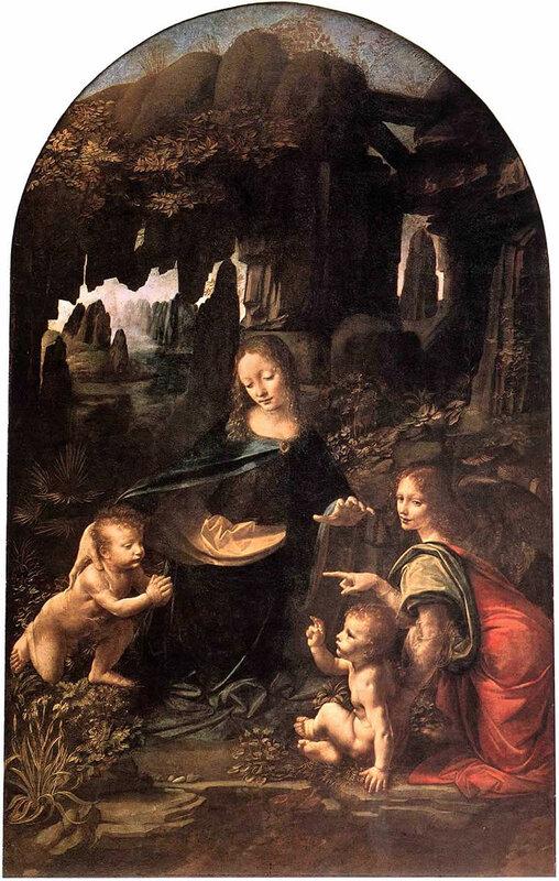 Мадонна в скалах, Леонардо да Винчи