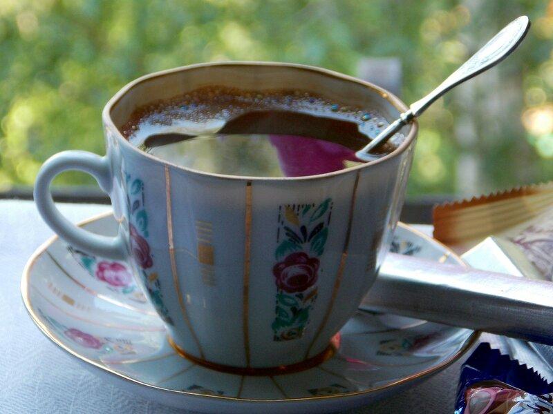 Кофе с пеночкой