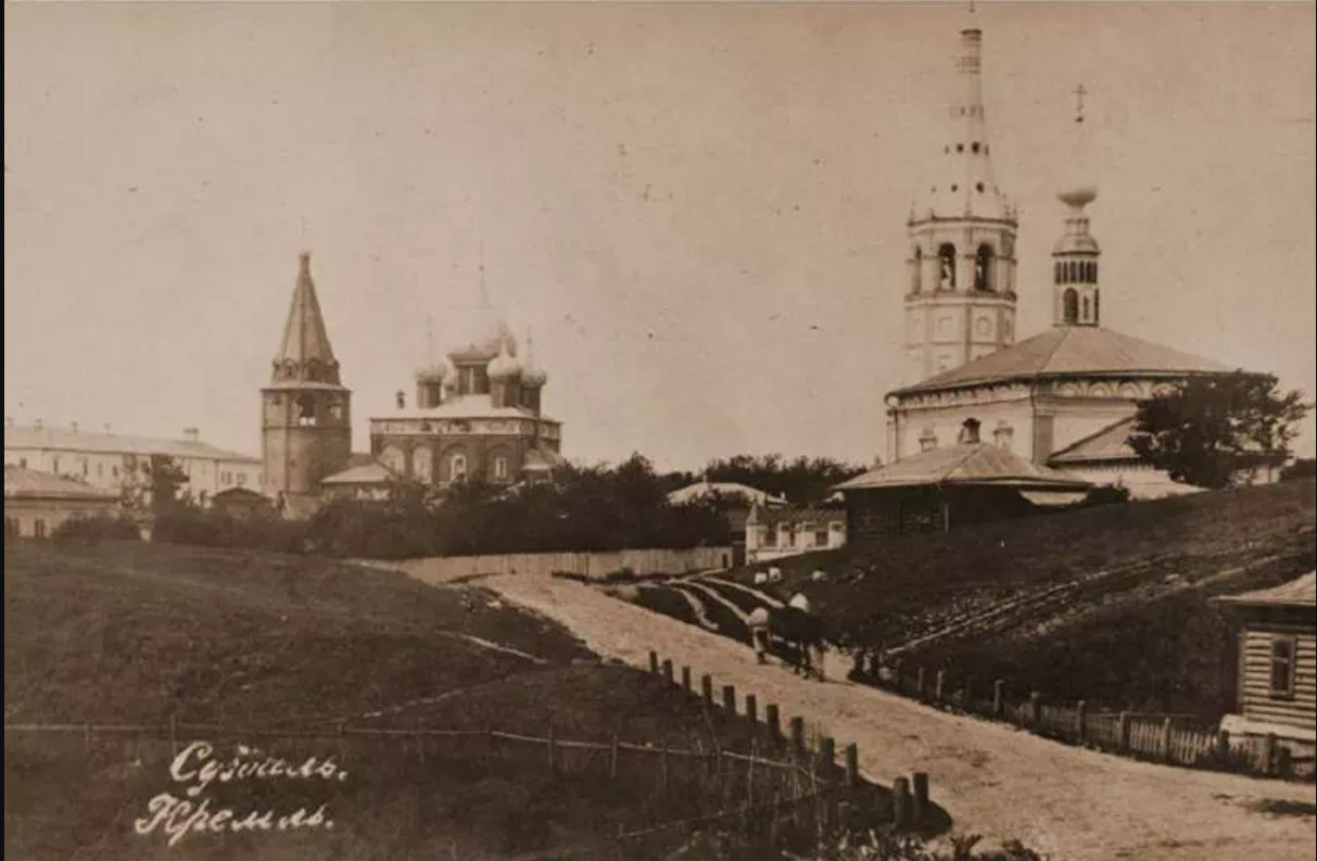 Никольская церковь и Кремль