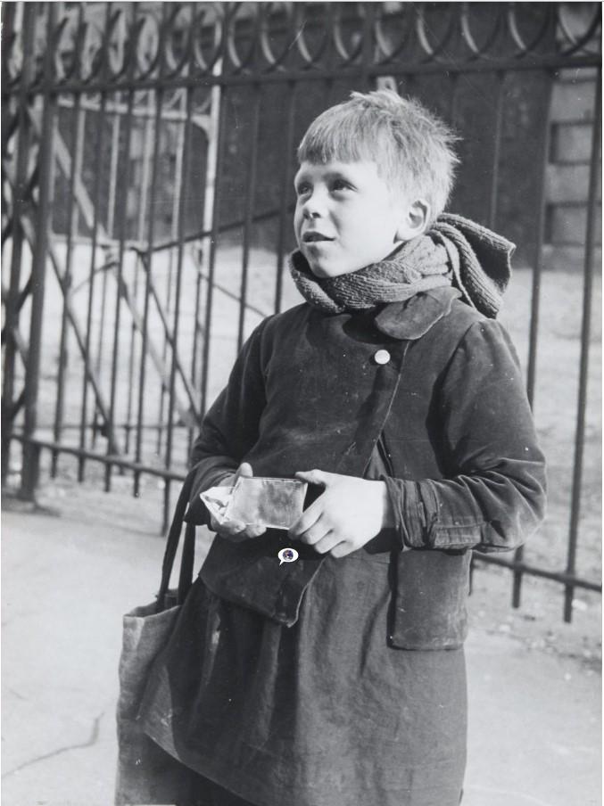 1950. Улица Евпатории, Менильмонтан. Париж