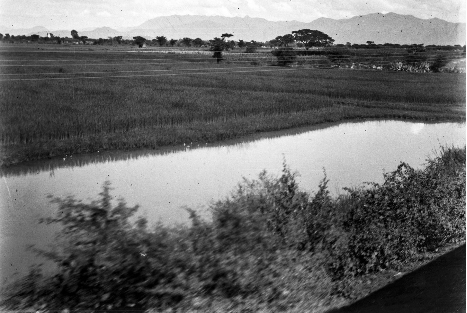 1075. Мандалай. Пейзаж