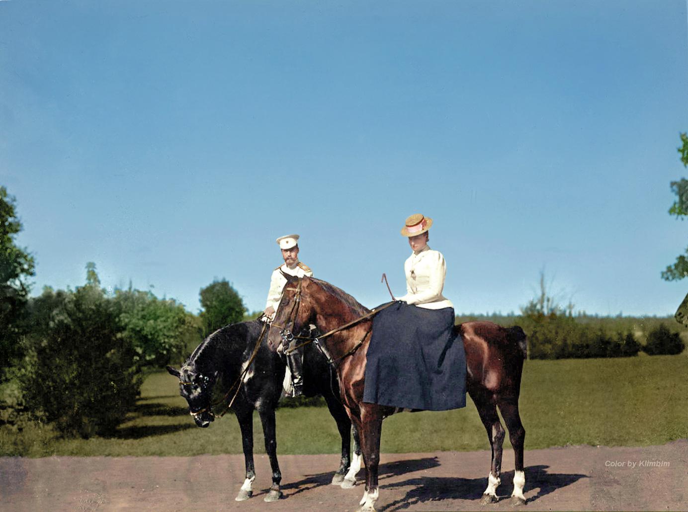 Император Николай II и Александра Федоровна